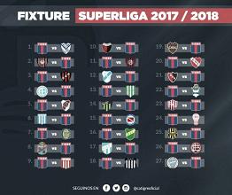 El fixture matador completo de la Superliga