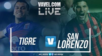 Tigre vs San Lorenzo en vivo online por la Superliga 2017 (1-2)
