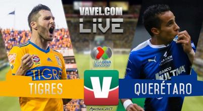Resultado y goles del Tigres 1-1 Querétaro de la Liga MX 2017