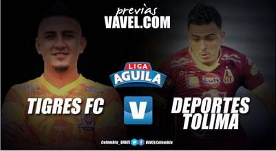 Previa Tigres FC Vs Deportes Tolima: El 'pijao' quiere domar al 'felino'