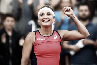 2017 Season Review: Wrist injury ends the year early for Timea Bacsinszky