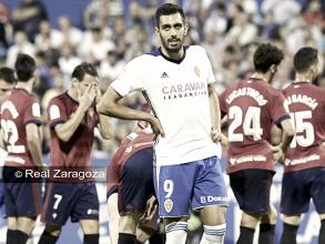 Osasuna salva el liderato ante un Zaragoza peleón