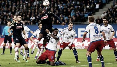 Hamburger SV 1:1 1. FC Köln: Kartenfestival beim Remis im Sonntagsspiel