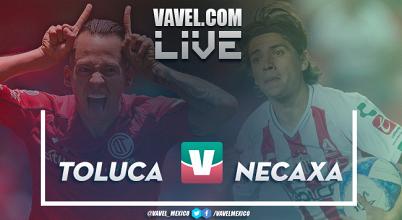 Resultado y goles del Toluca 3-2 Necaxa en Liga MX 2018