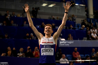 Tom Bosworth smashes UK 5000m walk record as Lorraine Ugen wins long jump at British trials