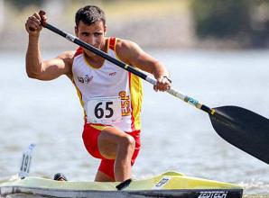 El canoísta Tono Campos consigue la medalla de plata en los 5.000 metros
