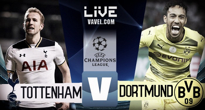 Tottenham - Borussia Dortmund in diretta, LIVE Champions League 2017/18 - Son, Yarmolenko, Kane (2)! (3-1)