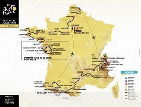 Los adoquines y puertos inéditos destacan en un tradicional Tour de Francia 2018