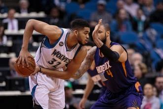 Destaques NBA: KAT liderou a noite