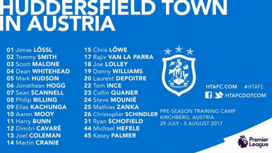 Huddersfield Town announce their squad for pre-season training camp