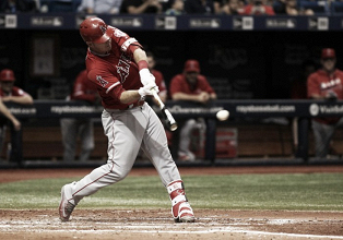 Los Angeles Angels win second consecutive game, defeat Tampa Bay Rays 7-2