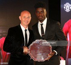 Axel Tuanzebe becomes 2nd player to win Man United POTY at U18 and U23 levels