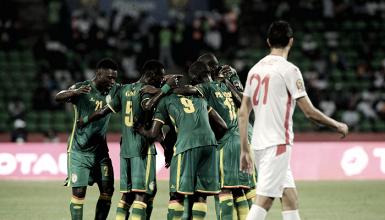 Esultanza dei calciatori del Senegal | www.laminute.info