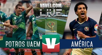 Resultado y goles del Potros UAEM (2-3) América