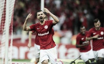"""De volta ao G-4: jogadores do Inter comemoram vitória sobre Oeste: """"Fomos consistentes"""""""