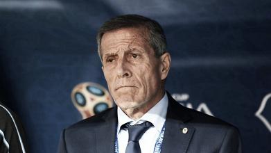 """Óscar Tabárez pede maior atenção após vitória magra do Uruguai contra Arábia Saudita: """"Acertar detalhes"""""""