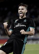 Borja Mayoral, elegido como mejor jugador ante la Real Sociedad
