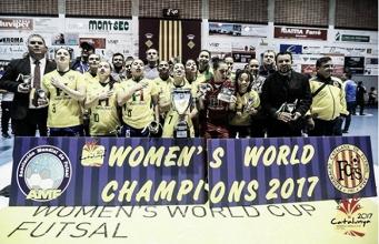 Brasil bate Argentina e conquista título da Copa do Mundo de Futebol de Salão Feminino