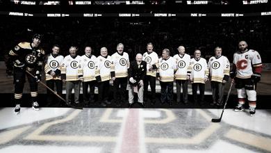 Los Bruins honraron al equipo de 1977/78