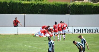 Trabajado triunfo del RCD Mallorca en Peralada