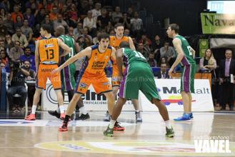 Fotos e imágenes del Valencia Basket 64-75 Unicaja, 8ª jornada de la Liga Endesa
