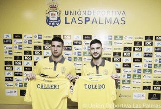 Calleri es nuevo refuerzo de Las Palmas