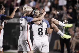 A Julie Ertz brace leads the USWNT to win over New Zealand