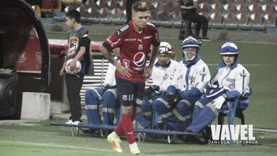 Juan Fernando Quintero, el goleador del DIM en la Liga Águila 2017-II