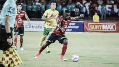 Toloza, el goleador del DIM en este arranque de semestre