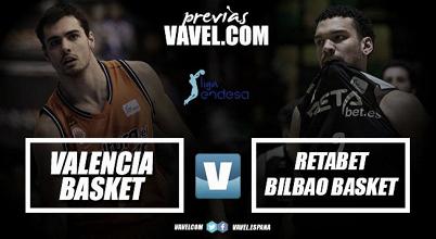 Previa Valencia Basket vs RETAbet Bilbao Basket: dos clásicos en las antípodas