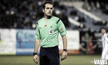 Análisis del árbitro del Sevilla Atlético - Real Oviedo: Valdés Aller