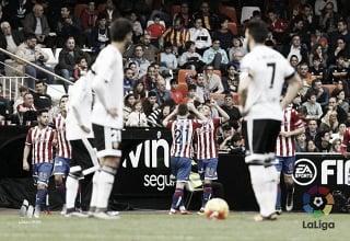 Valencia 0-1 Sporting Gijon: Antonio Sanabria snatches the win away from Valencia