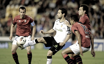 El Valencia domina el pasado frente a los rojillos