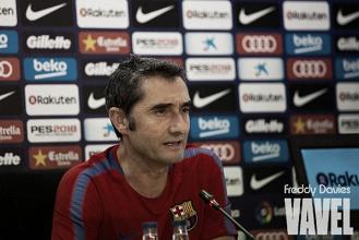"""Valverde: """"Los resultados acompañan y eso hace que vayamos ganando confianza"""""""