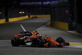 GP Singapore - Vandoorne a punti, ottima McLaren