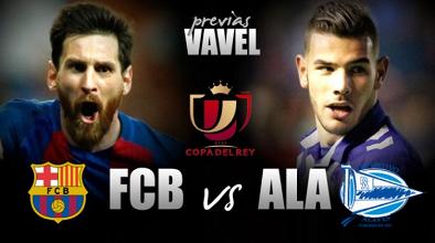 Em dia de despedidas, Barcelona encara surpreendente Alavés na decisão da Copa do Rei