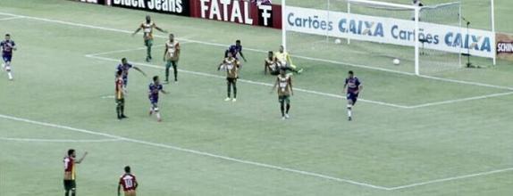 Bruno Melo marca dois, Fortaleza empata com Sampaio e garante vaga inédita na final da Série C