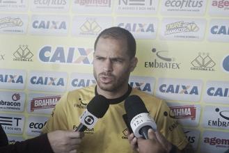 """Problemas em manter placar preocupam Silvinho, do Criciúma: """"Esperamos que não ocorra mais"""""""
