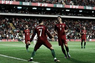 Cristiano Ronaldo brilha, passa marca de Pelé e Portugal goleia Ilhas Faroé
