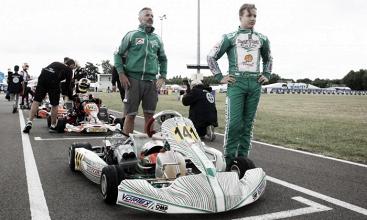 Gianluca Petecof disputa Campeonato Mundial de Kart na Inglaterra