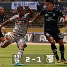 Victoria sabor a liderato para Independiente del Valle.