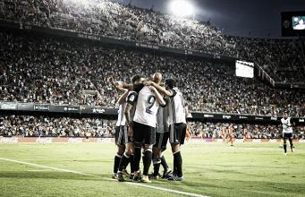 Valencia CF - Málaga CF: puntuaciones del Valencia, jornada 5 de La Liga