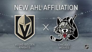 Los Golden Knights convierten a Chicago Wolves en su afiliado