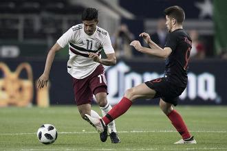 México cae por la mínima en accidentado ensayo ante Croacia