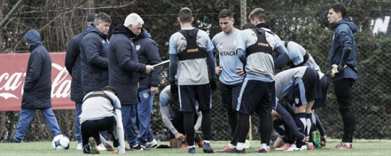 Vélez se preparó para la Superliga