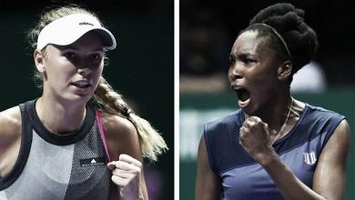 Caroline Wozniacki x Venus Williams: a improvável final do último torneio da temporada