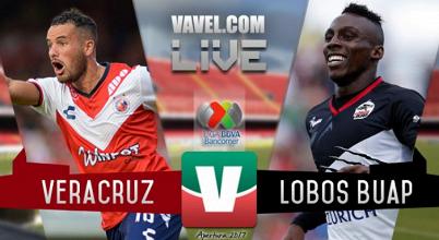 Resultado y gol del Veracruz 0-1 Lobos BUAP de la Liga MX 2017