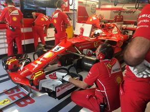 Test Abu Dhabi day2: Vettel primo in mattinata, Leclerc gira con la Sauber