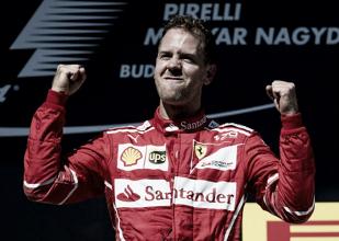 Vettel vence na Hungria, vê Hamilton fora do pódio e abre 14 pontos na liderança da F1