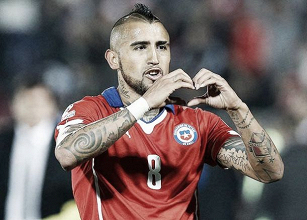 """Arturo Vidal: """"Estoy triste por el empate"""""""